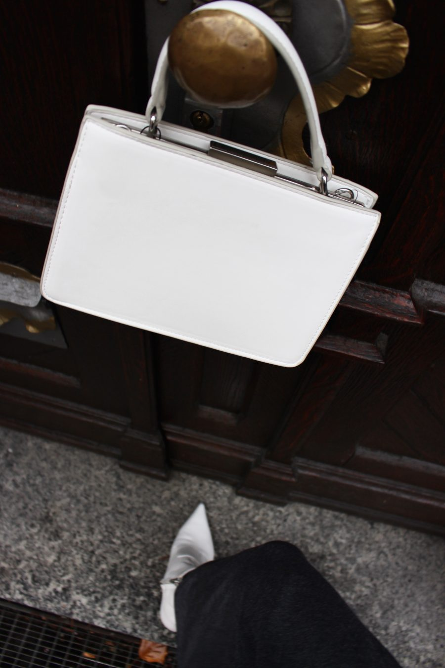 white bag mango céline