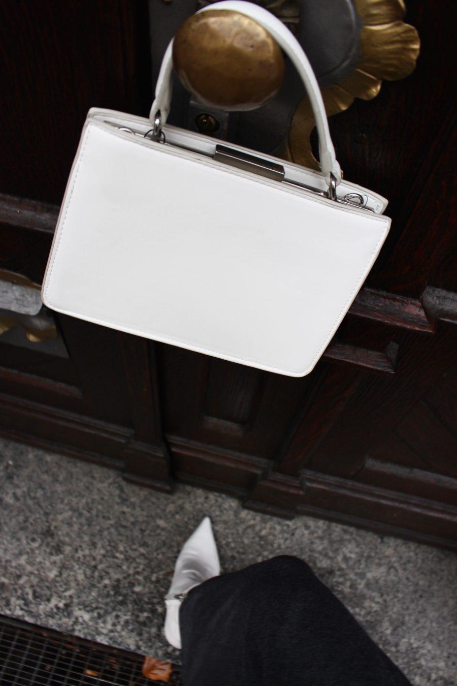 white bag mango céline