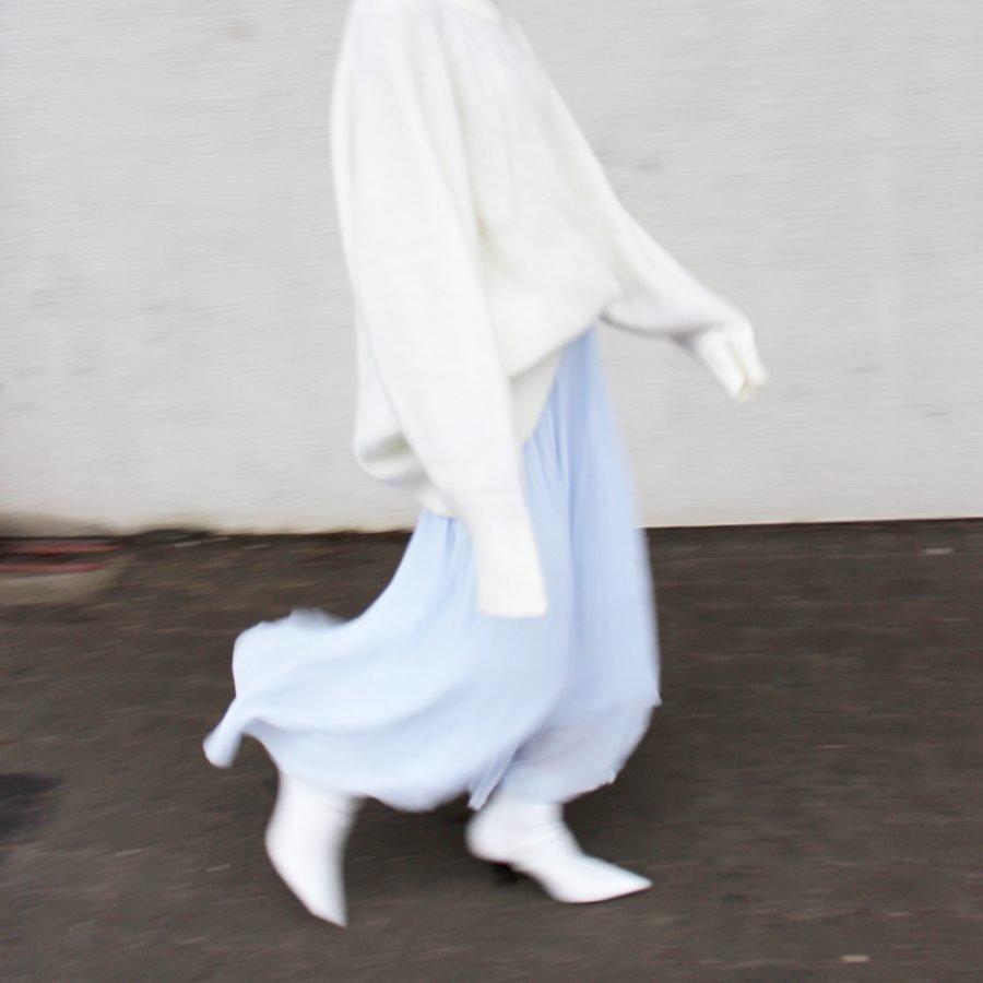 Boots céline white spring 2018