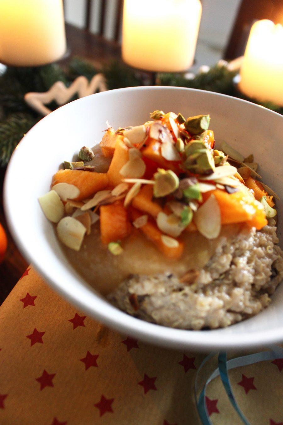 Christmas Quinoa-Bowl