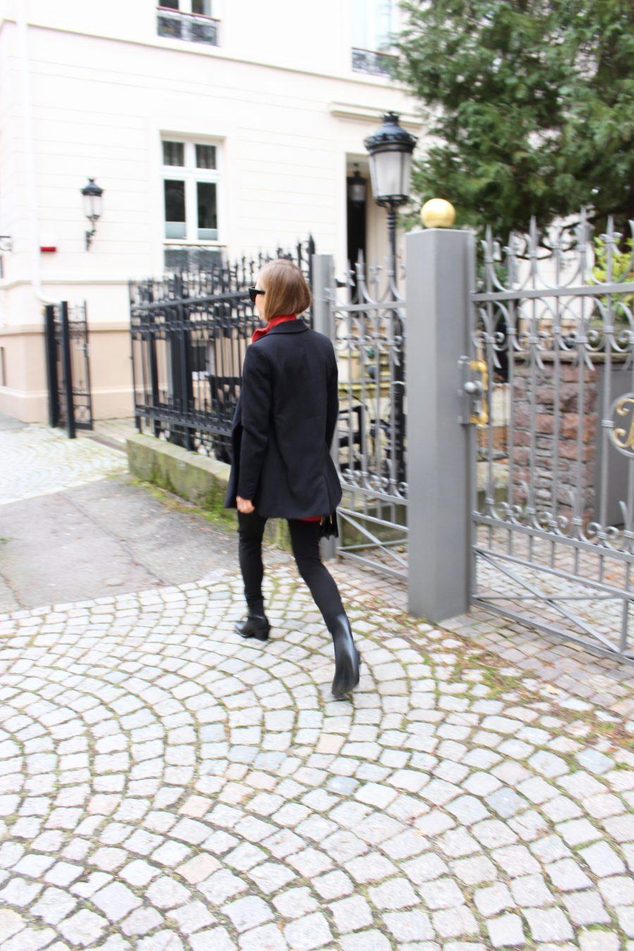 Zara boots black