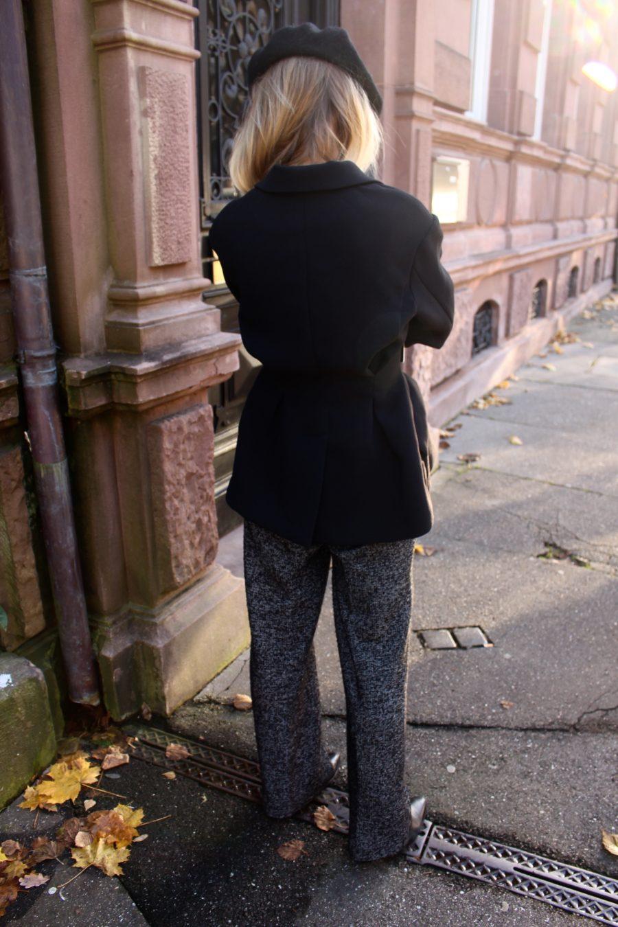 der schwarze blazer H&M trend