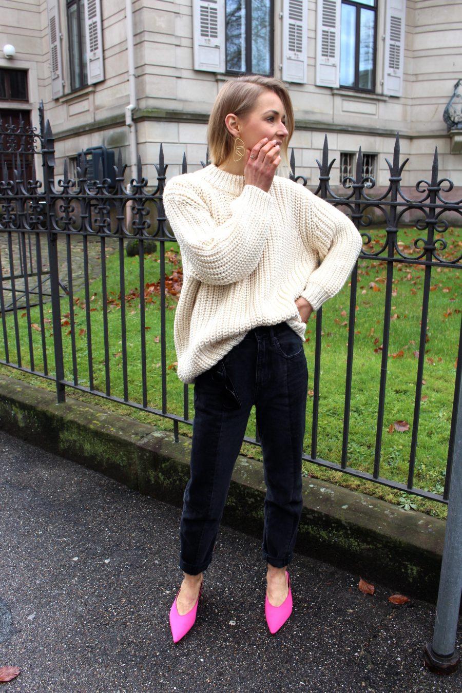 oversized knitwear zara