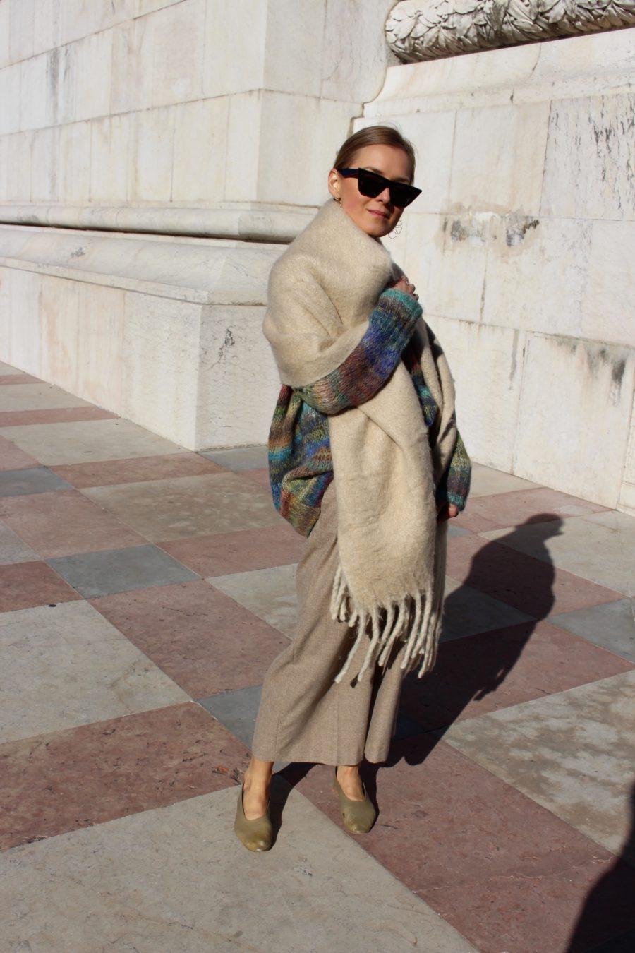 céline scarf plaid