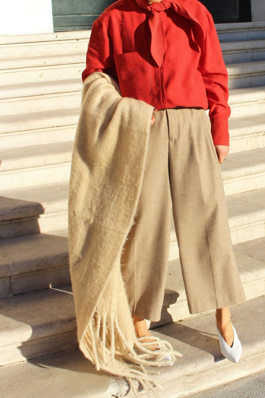 zara beige pants new collection 2017 fall winter