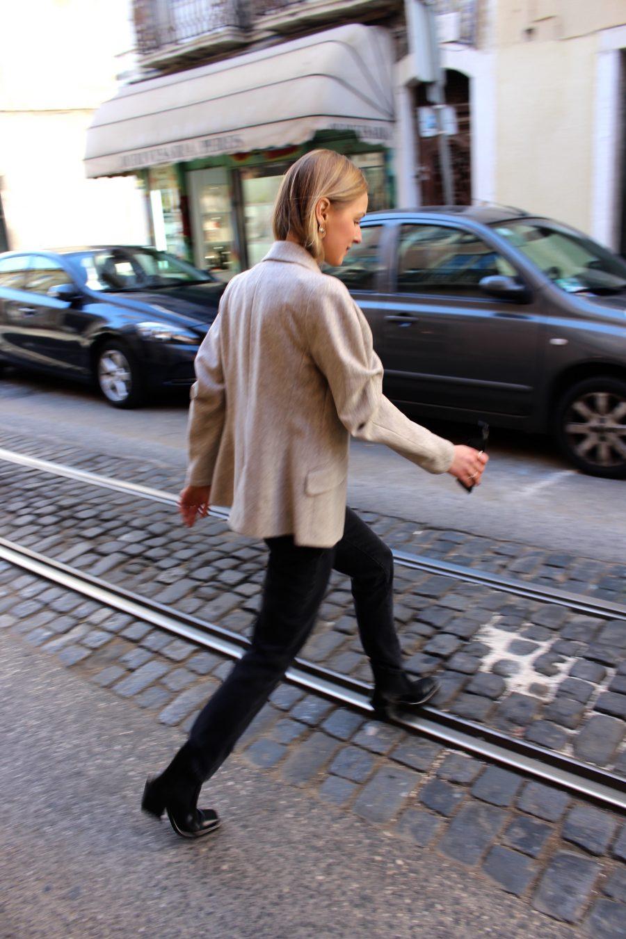 denim jeans vintage grey H&M