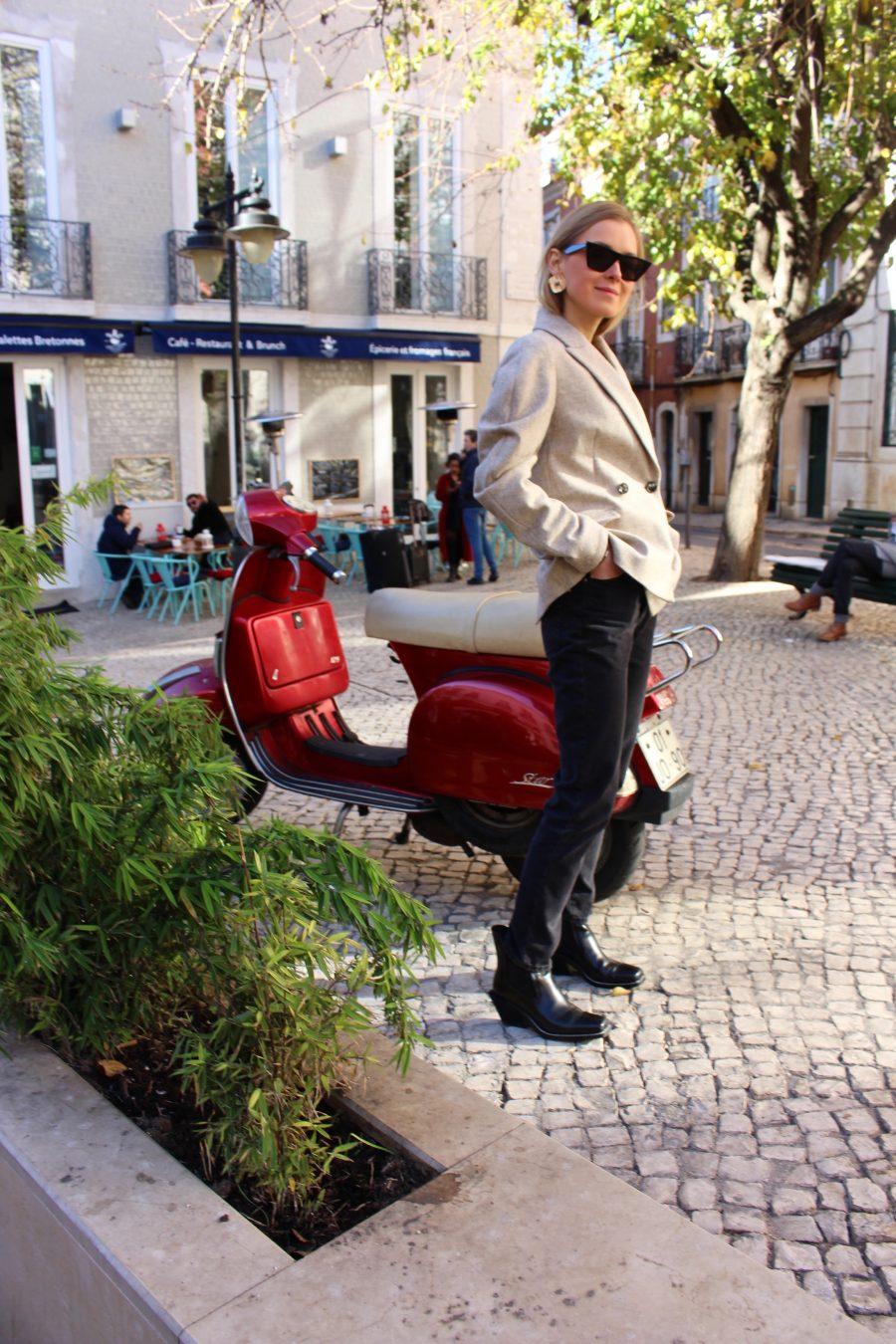zara boots like céline