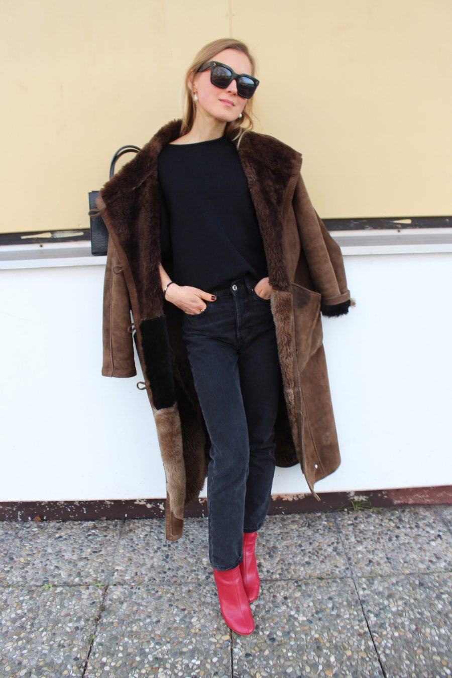 The Teddy Coat blogger trend 2018