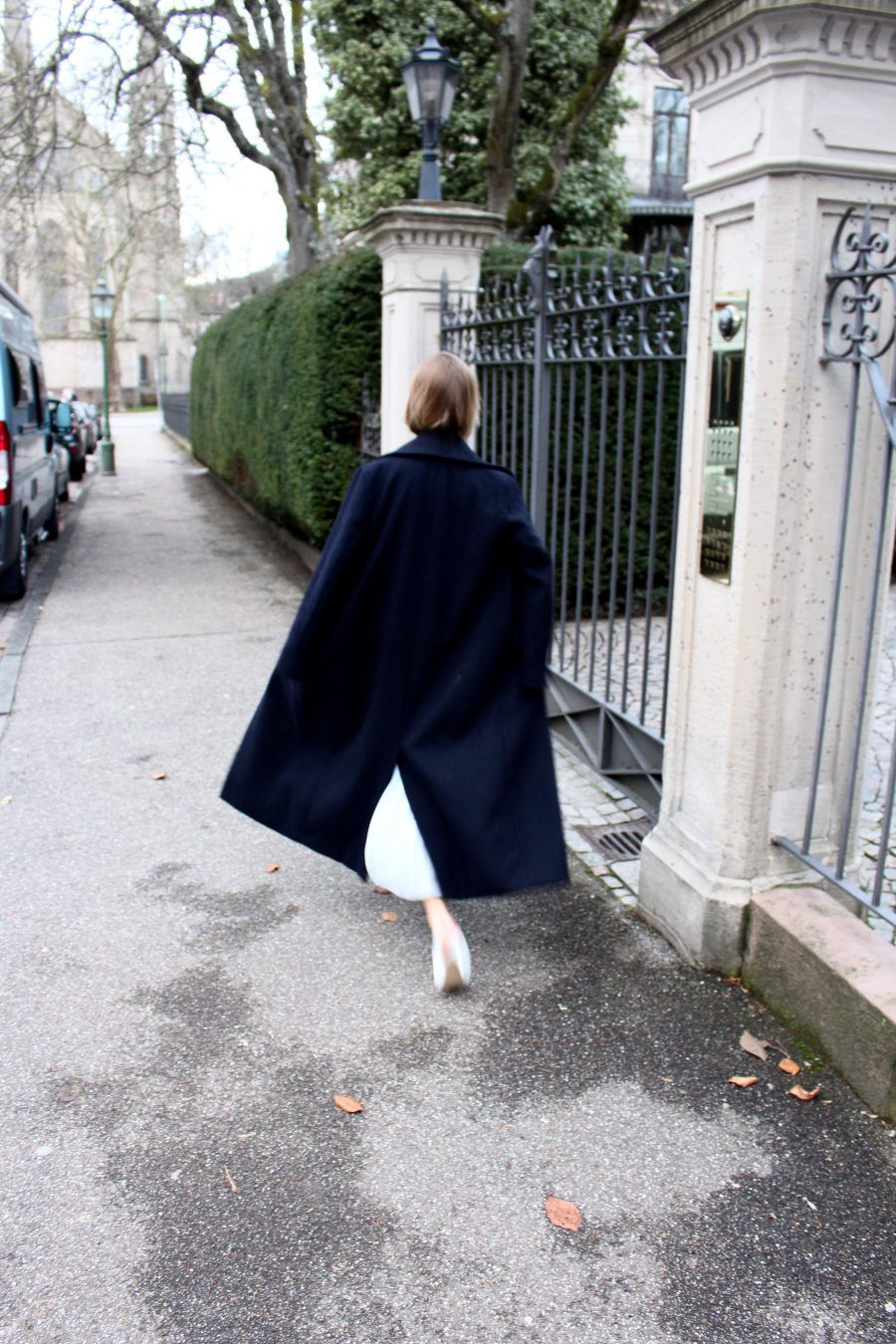 oversized coat H&M trend
