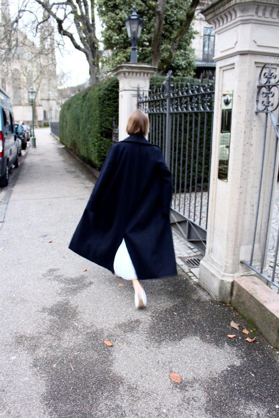 oversized coat H&M trend