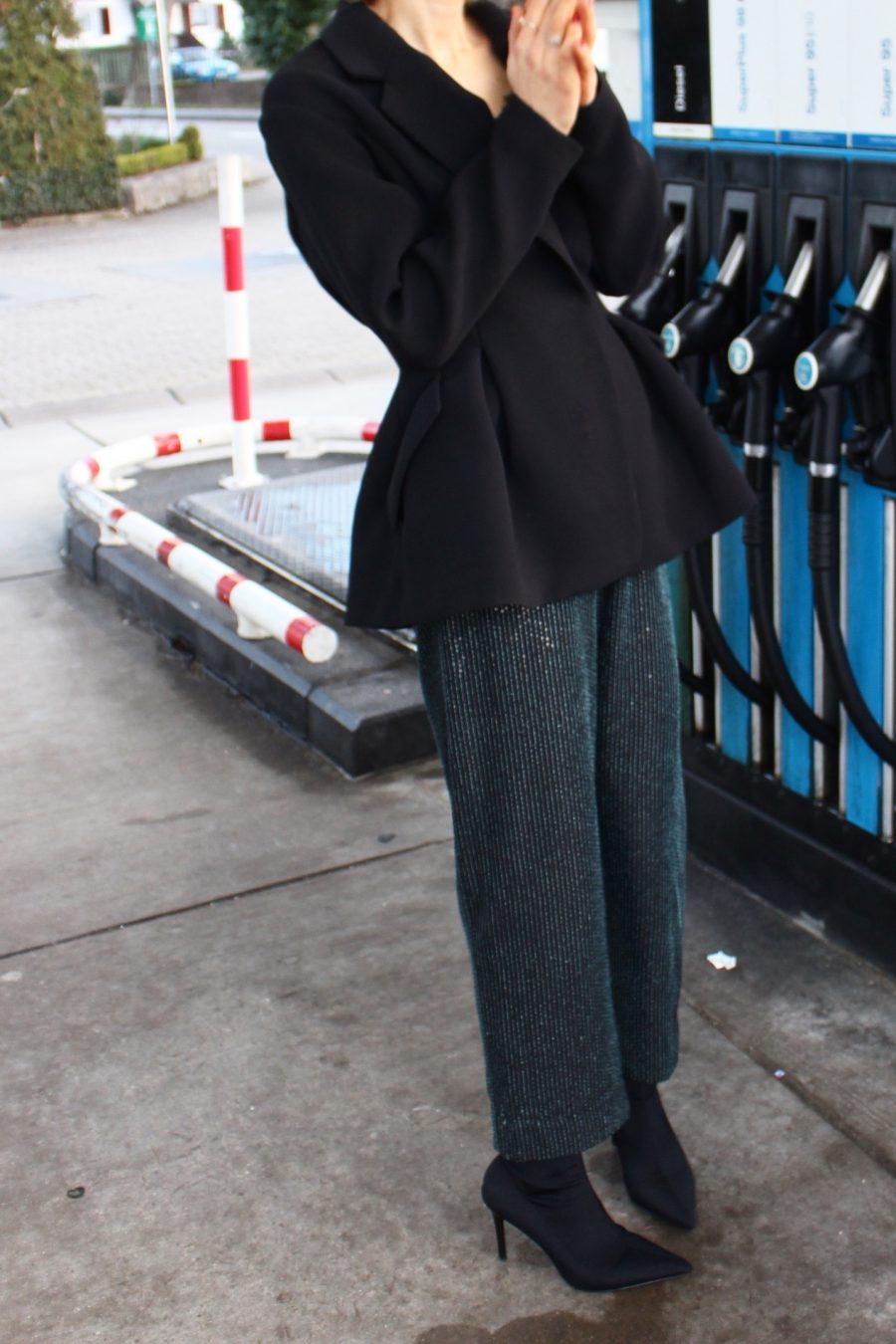 glitter pants H&M