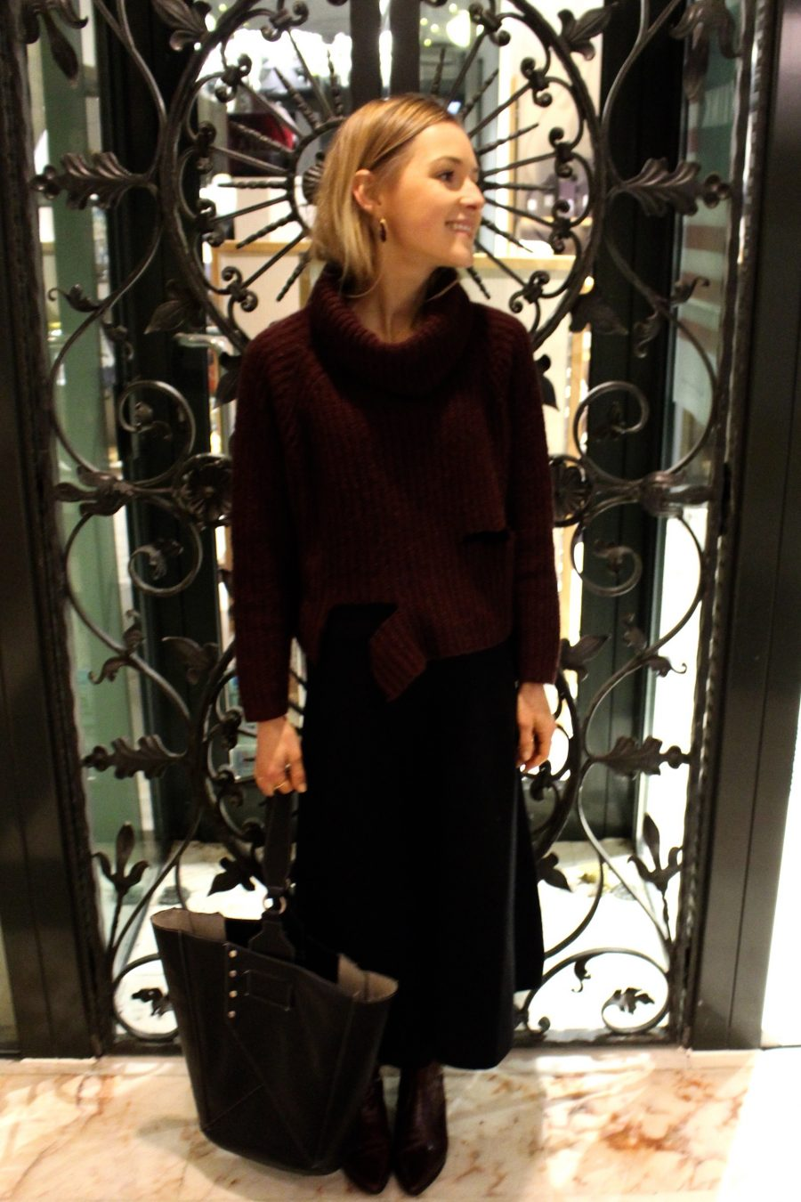 skirt massimo dutti fashion blogger