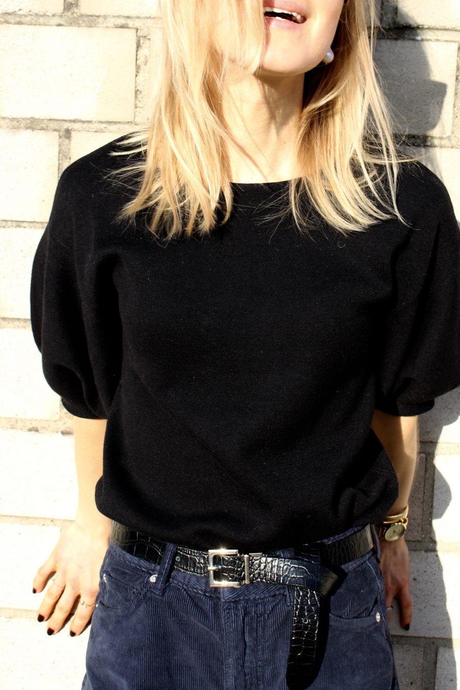 Massimo Dutti sweater black