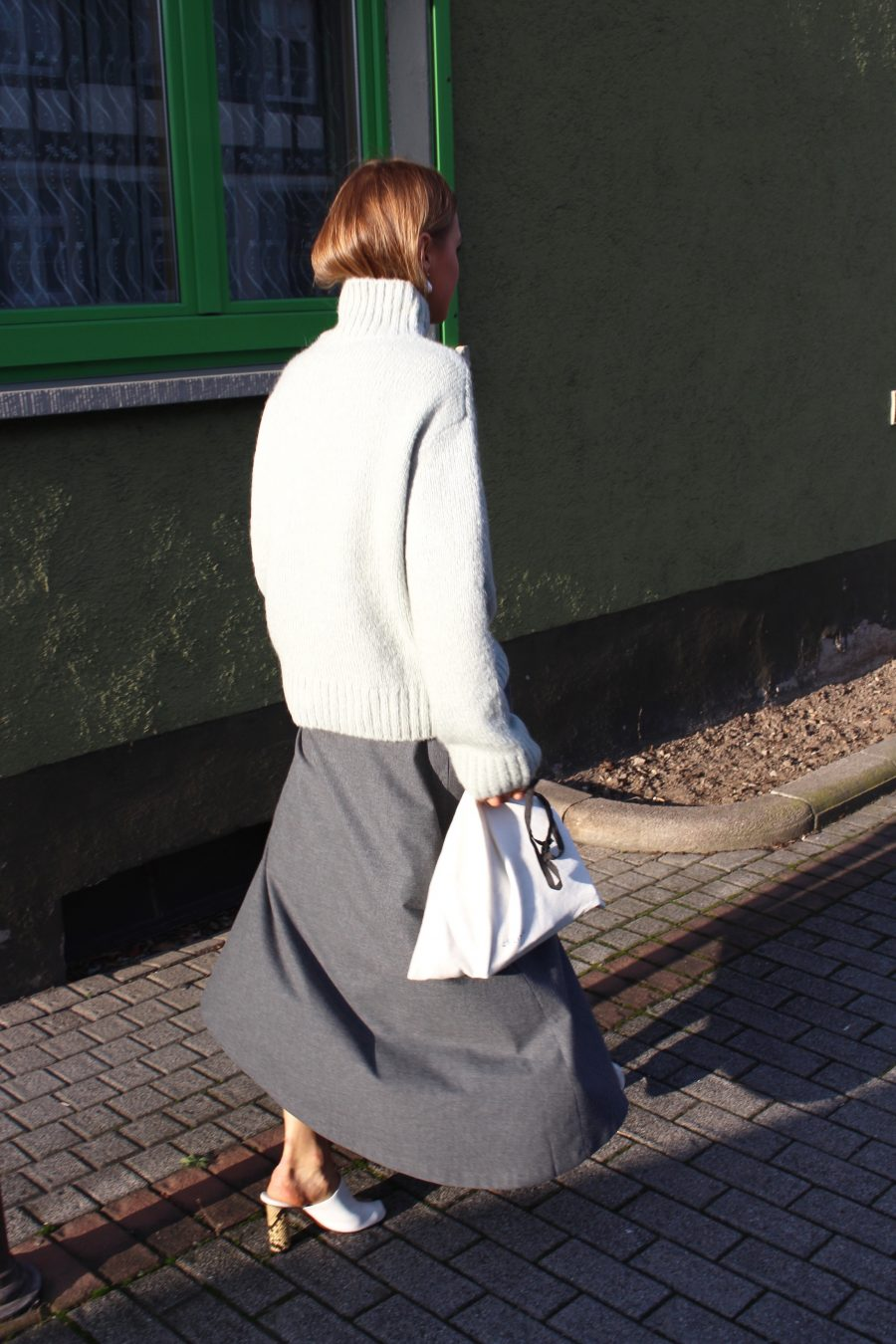 Zara Skirt grey