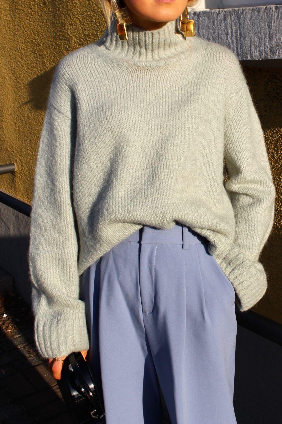 wide pants zara sale blue