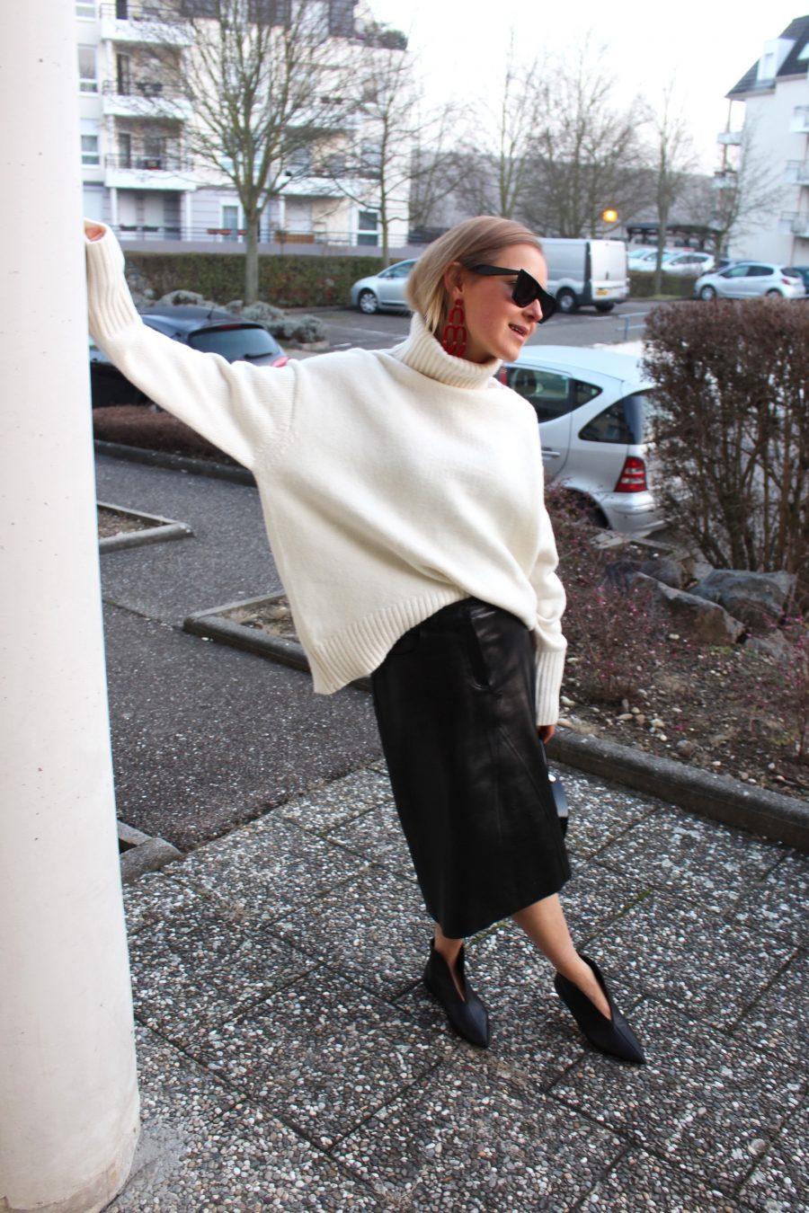 Leather Skirt Vintage