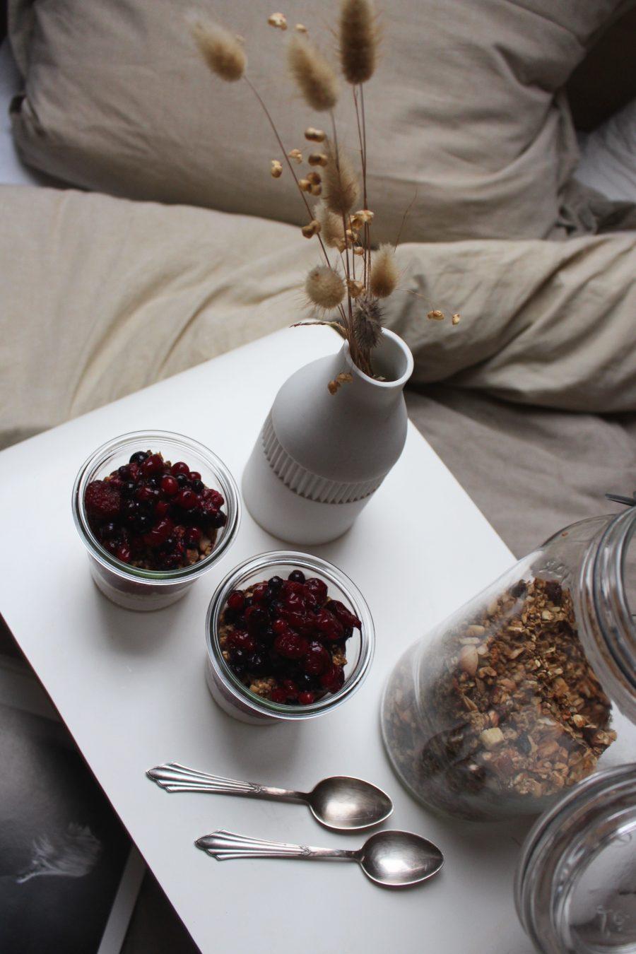 Beeren Chia-Pudding