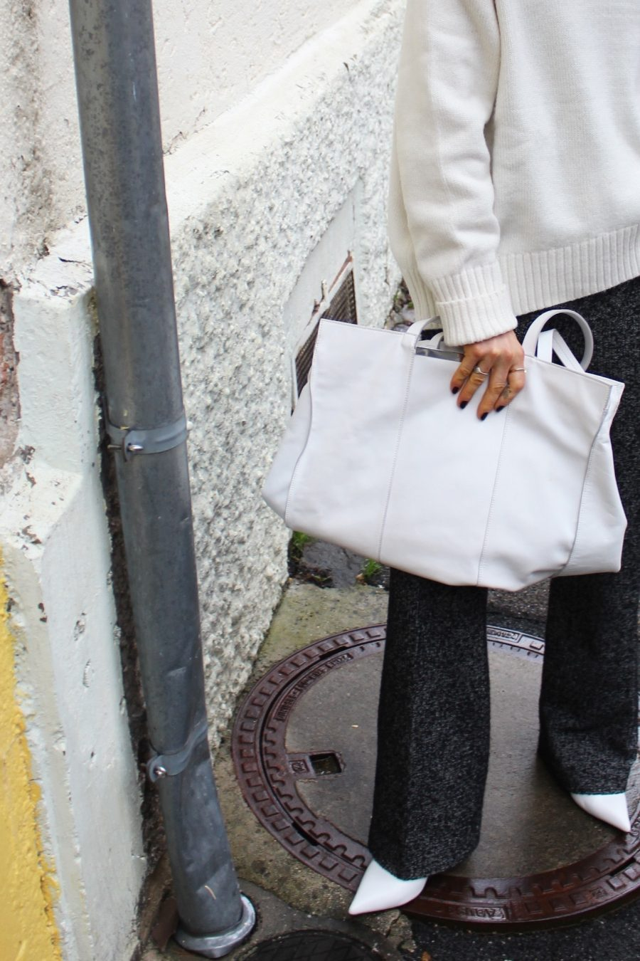 white bag Céline