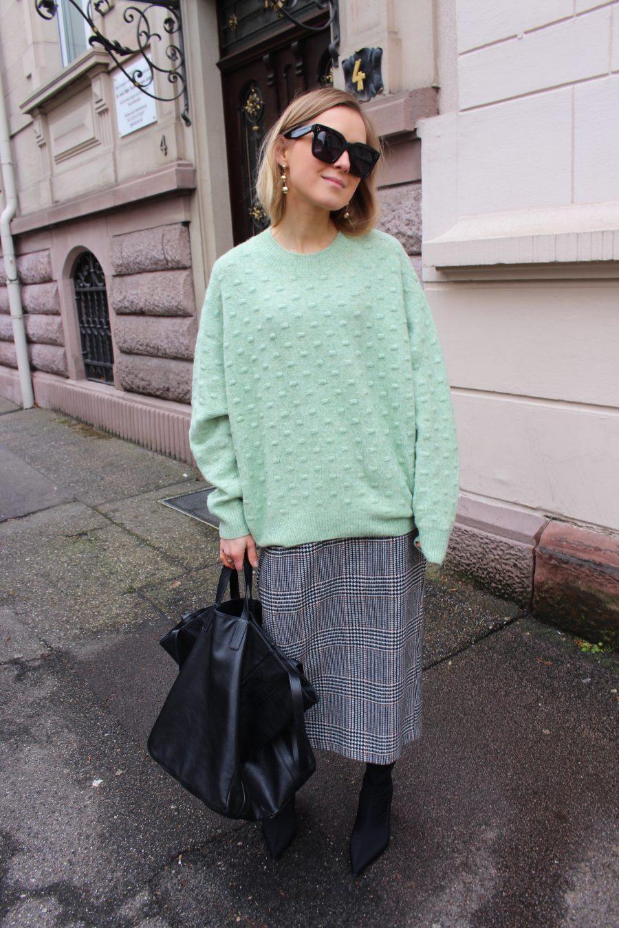 Glencheck Skirt H&M