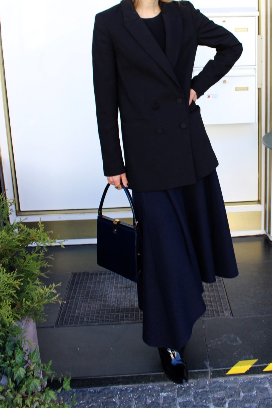 céline bag navy blue ss18