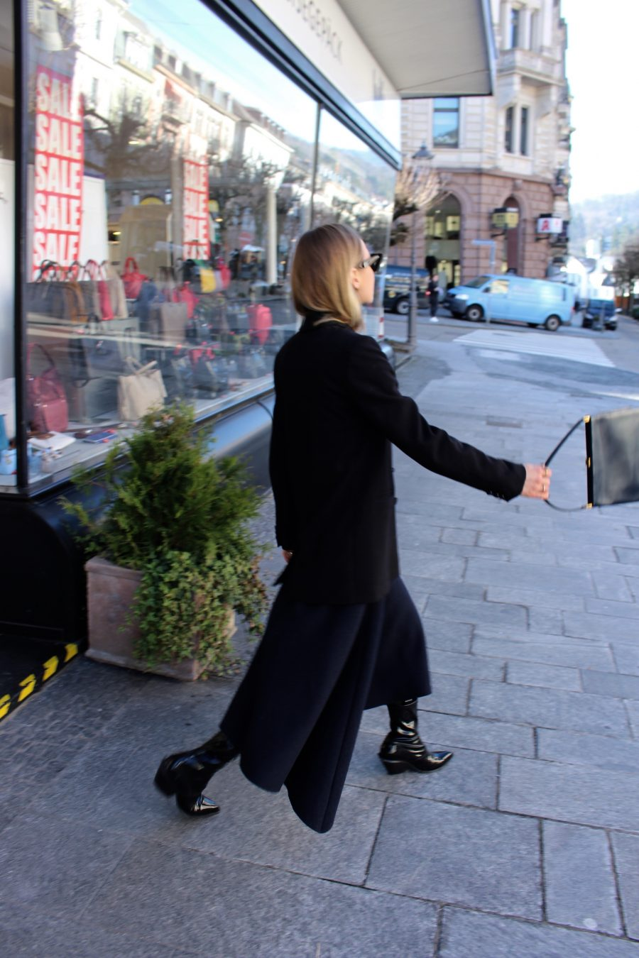 oversized blazer H&M Trend black