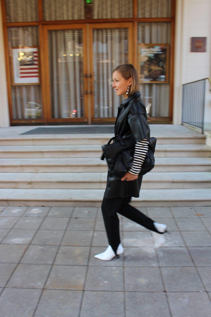 steghose H&M schwarz
