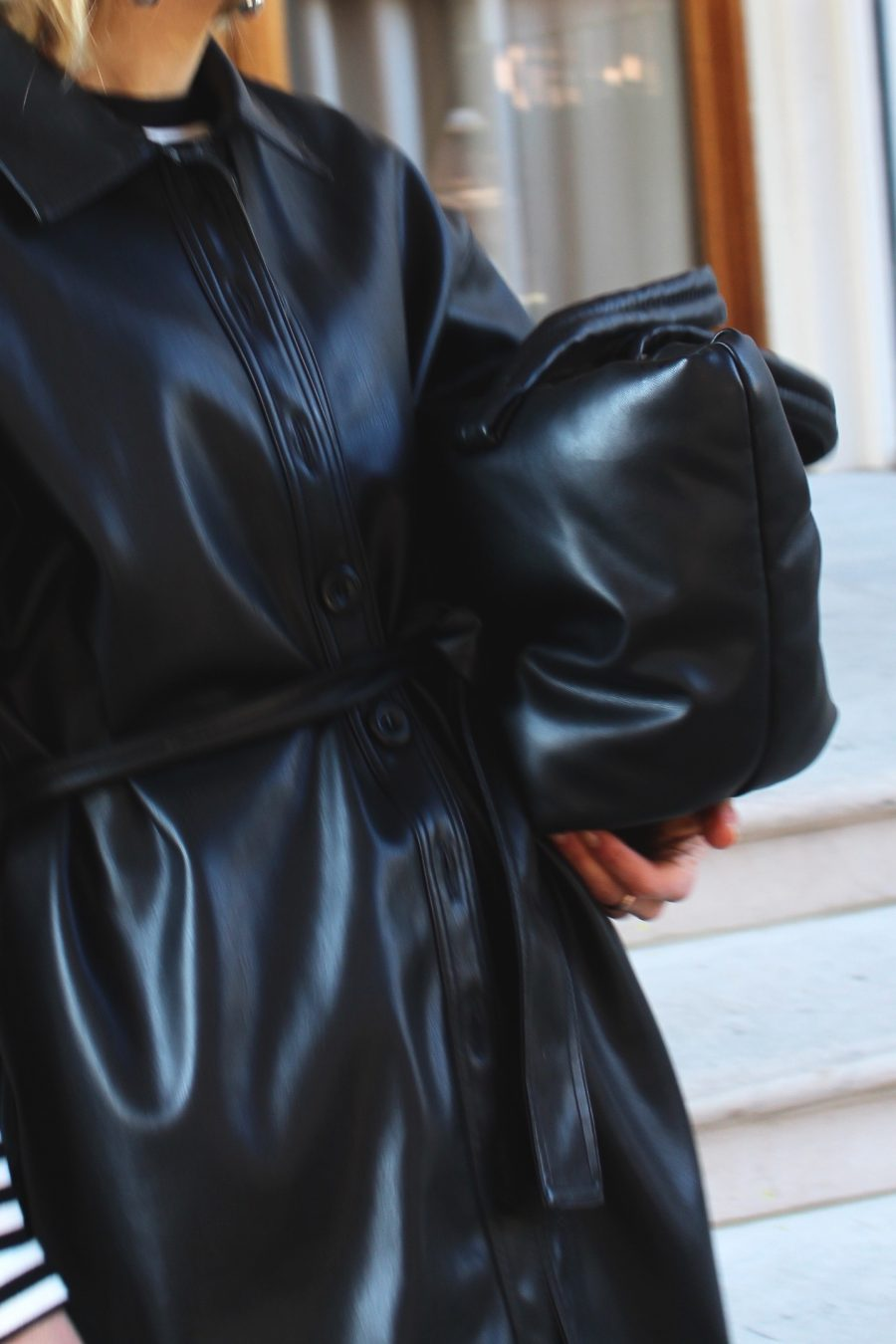 Leather Dress Zara
