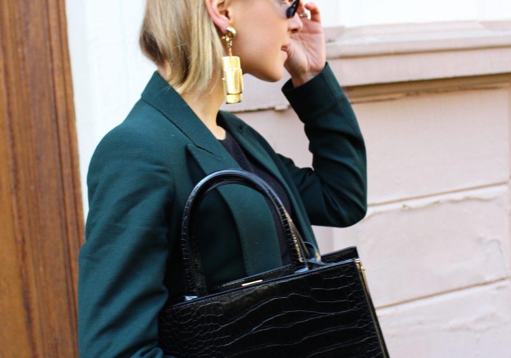 Zara céline bag black