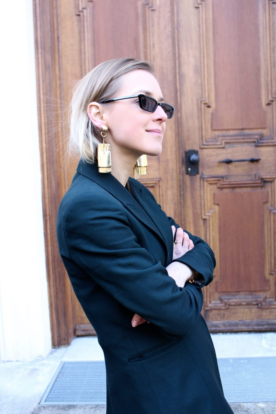 Balenciaga sunglasses black