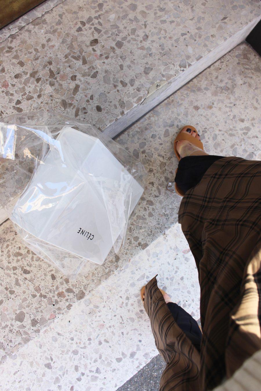 Céline Plastik Bag