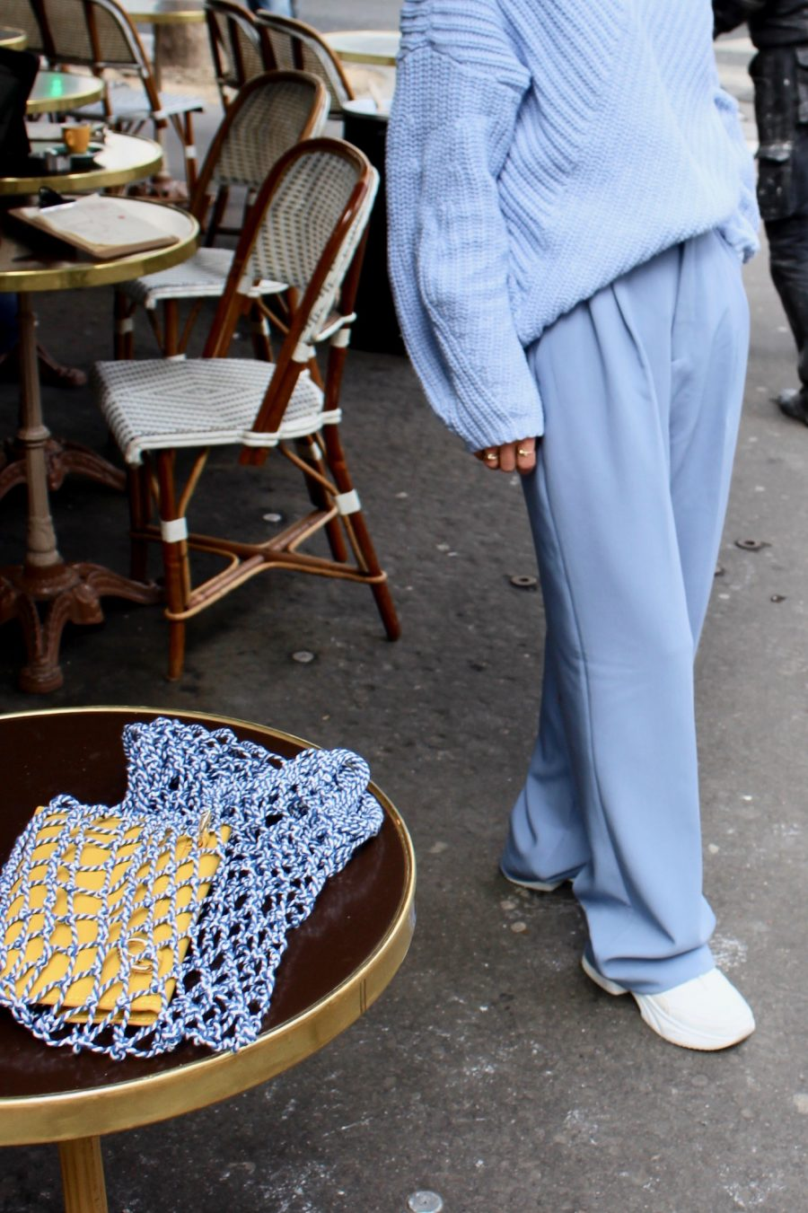 baby blue pants zara summer 2018