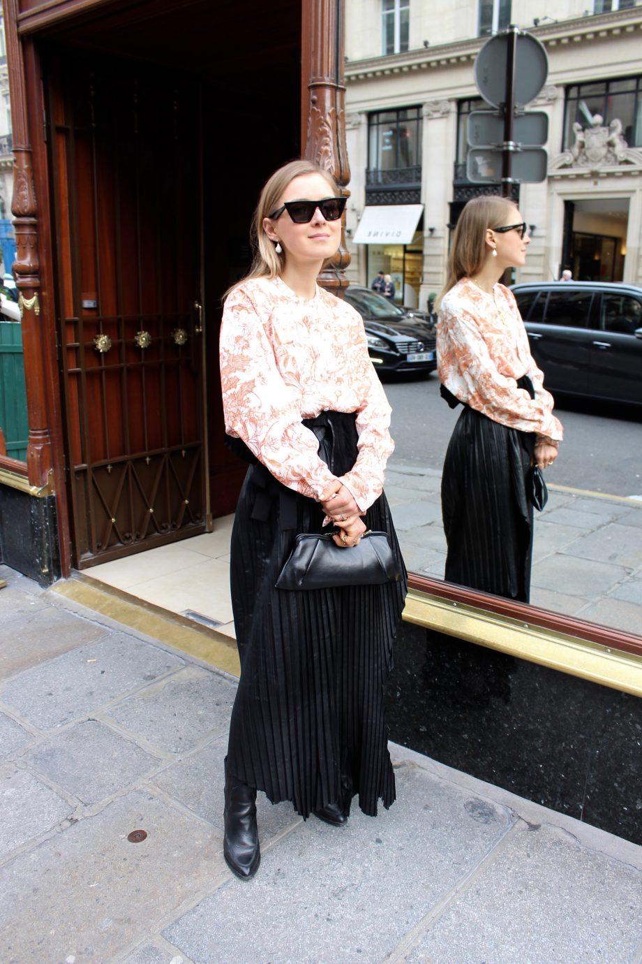 Nobi Talai Leather Skirt  18.03.2018
