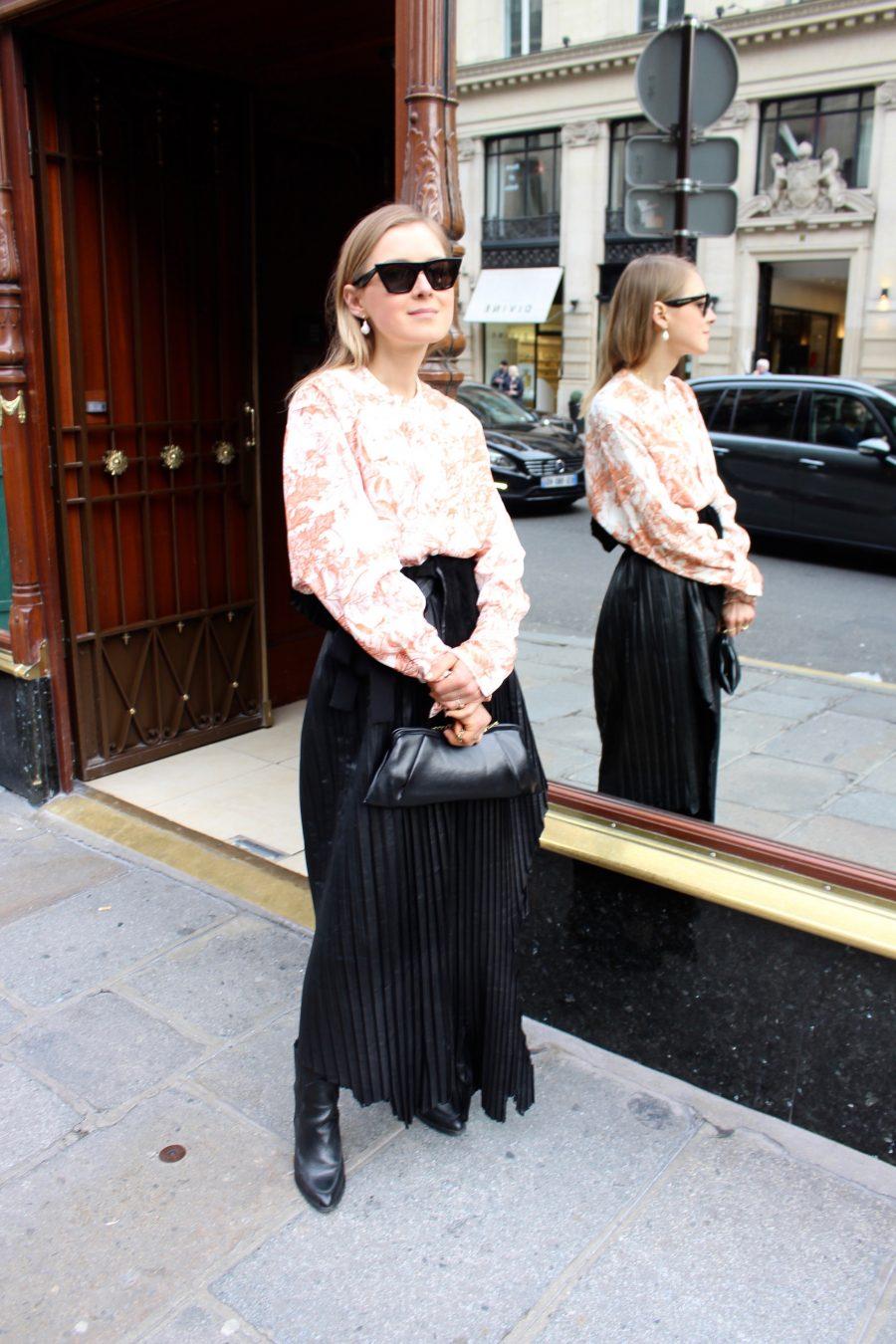 Nobi Talai Leather Skirt