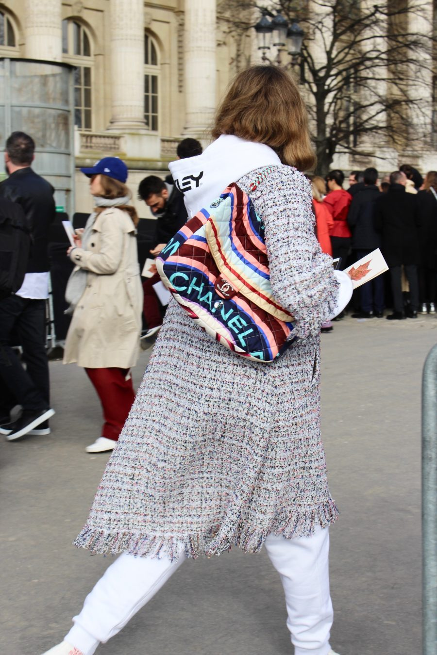 Street Style Paris Fashion Week FW18/19, Day 8