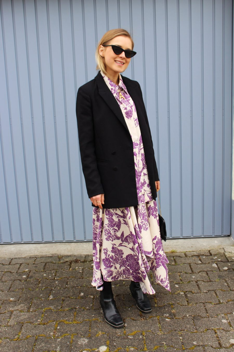 Céline floral skirt and shirt