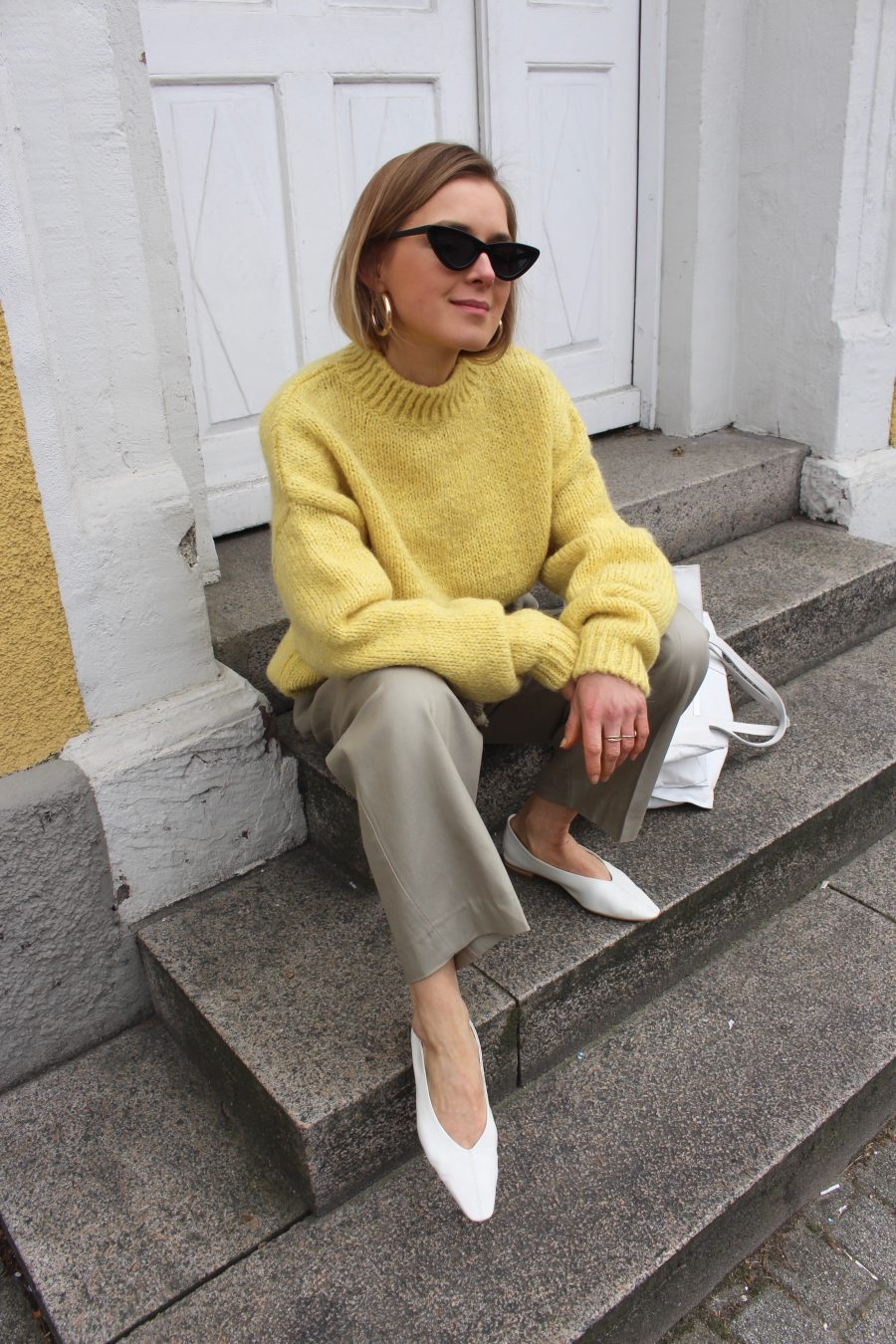 yellow sweater H&M Trend summer 2018