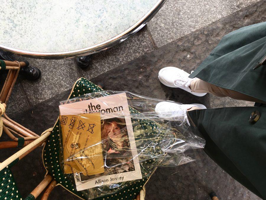 céline plastic bag