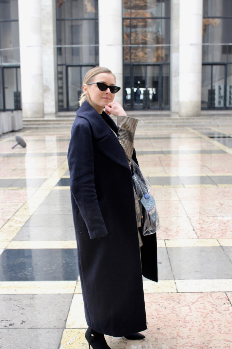 oversized coat H&M