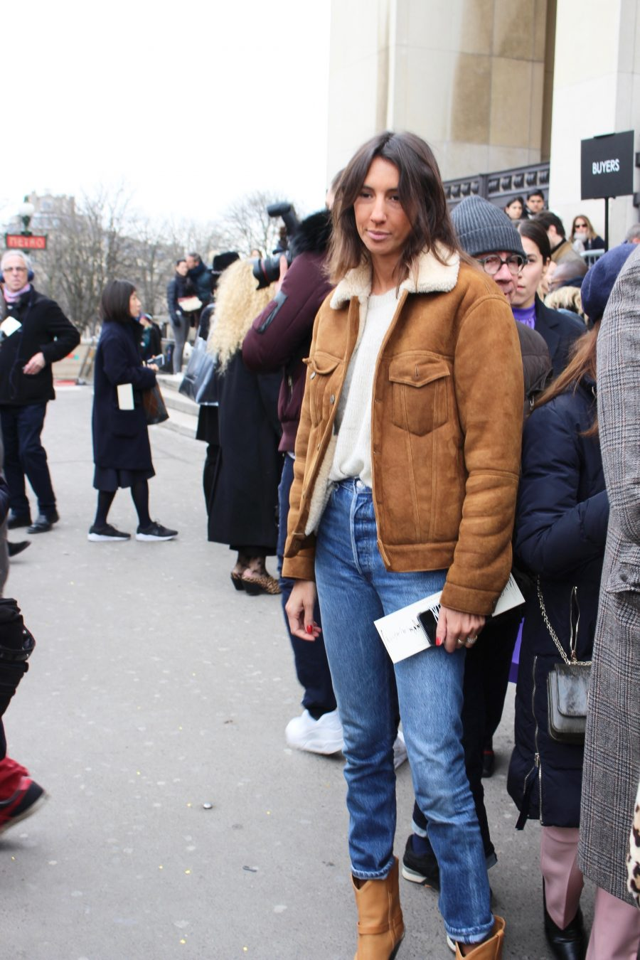 Street Style Paris Fashion Week FW18/19, Day 5