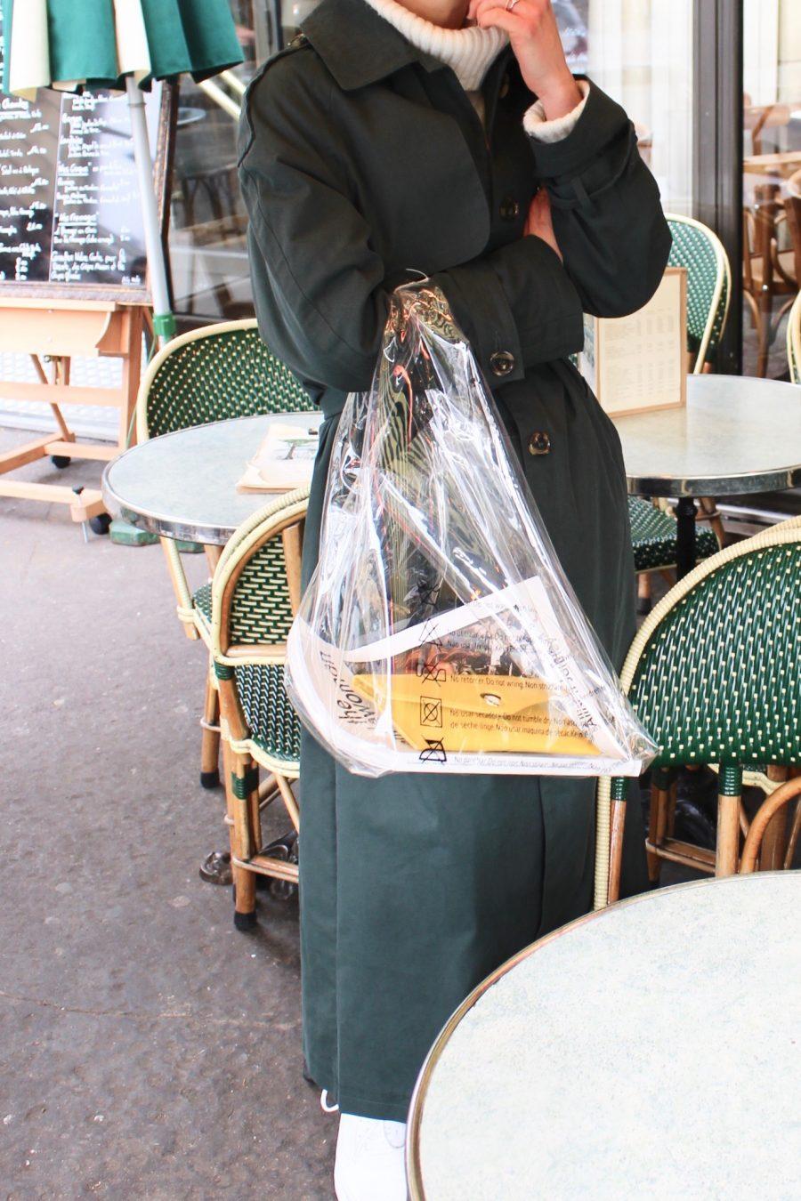 plastic bag céline summer trend 2018