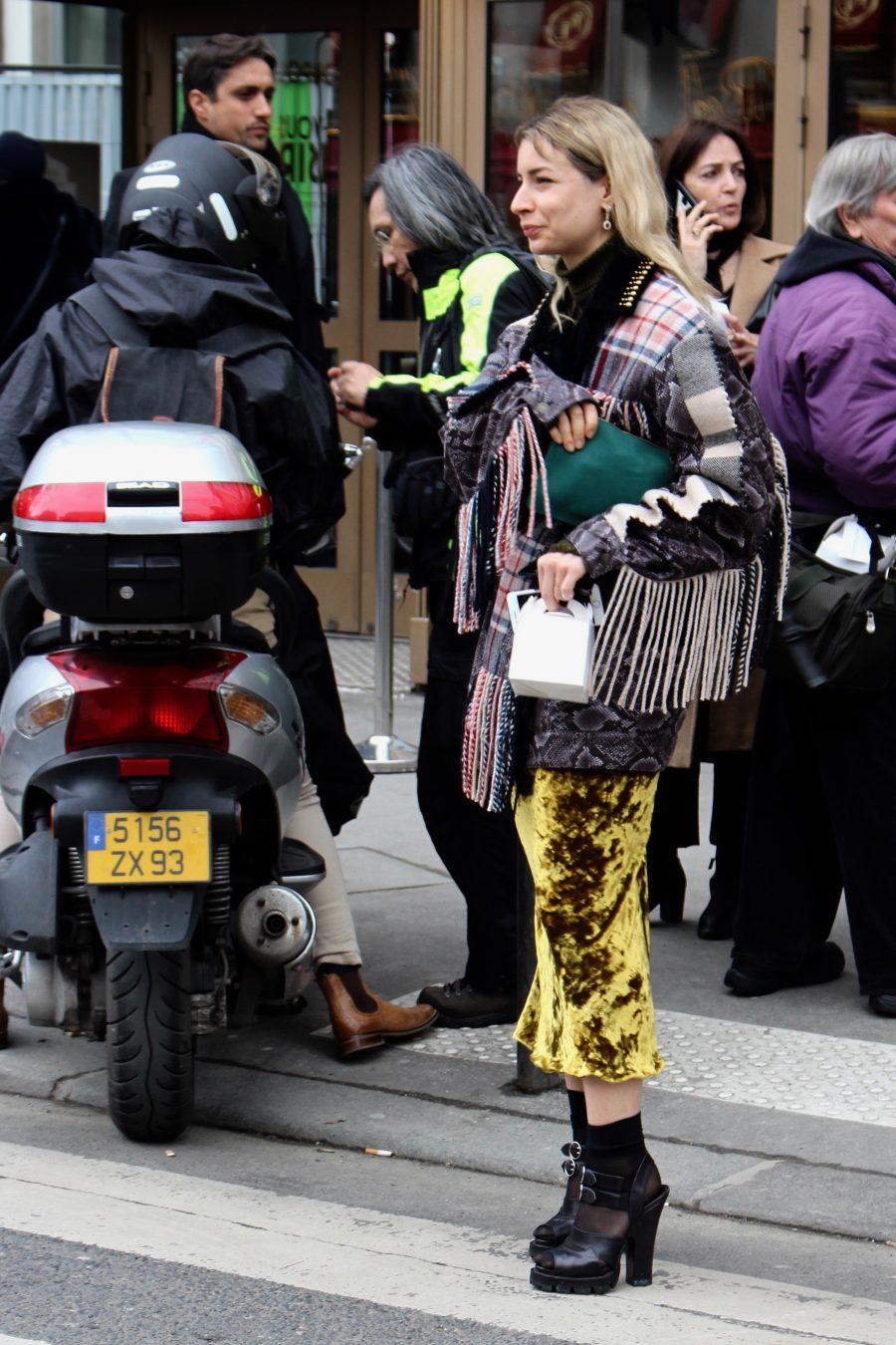 Street Style Paris Fashion Week FW18/19, Day 5