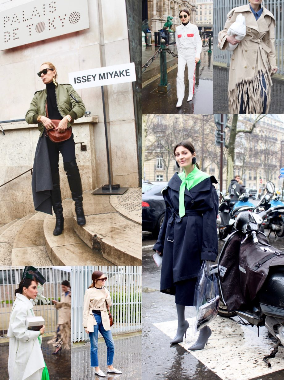 Street Style Paris Fashion Week FW18/19, Day 4 |11.03.2018