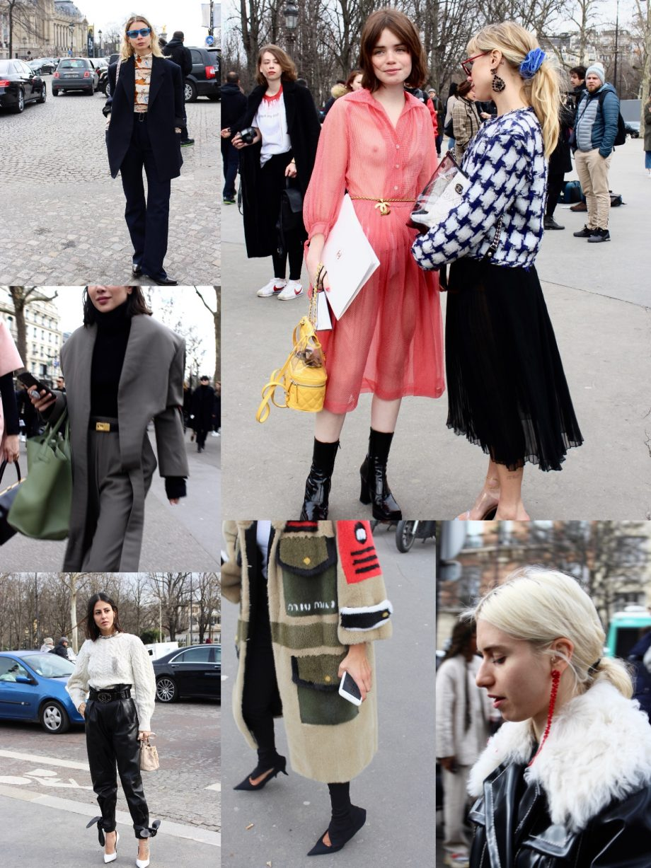 Street Style Paris Fashion Week FW18/19, Day 8 | 27.03.2018