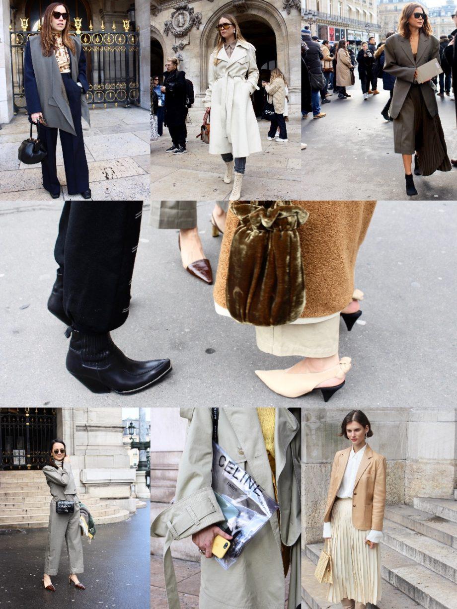 Street Style Paris Fashion Week FW18/19, Day 7  22.03.2018