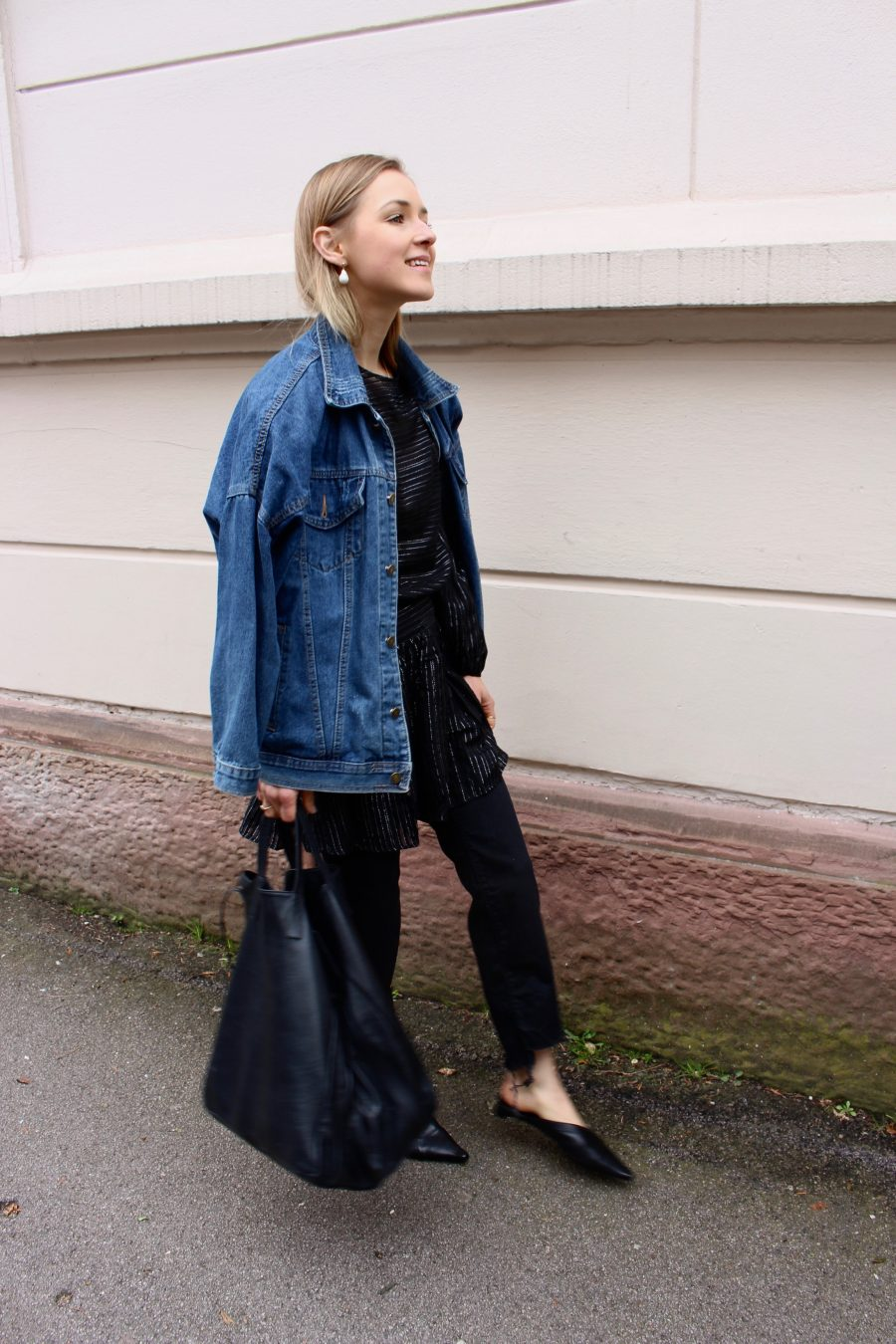 Denim Jacket oversized balenciaga