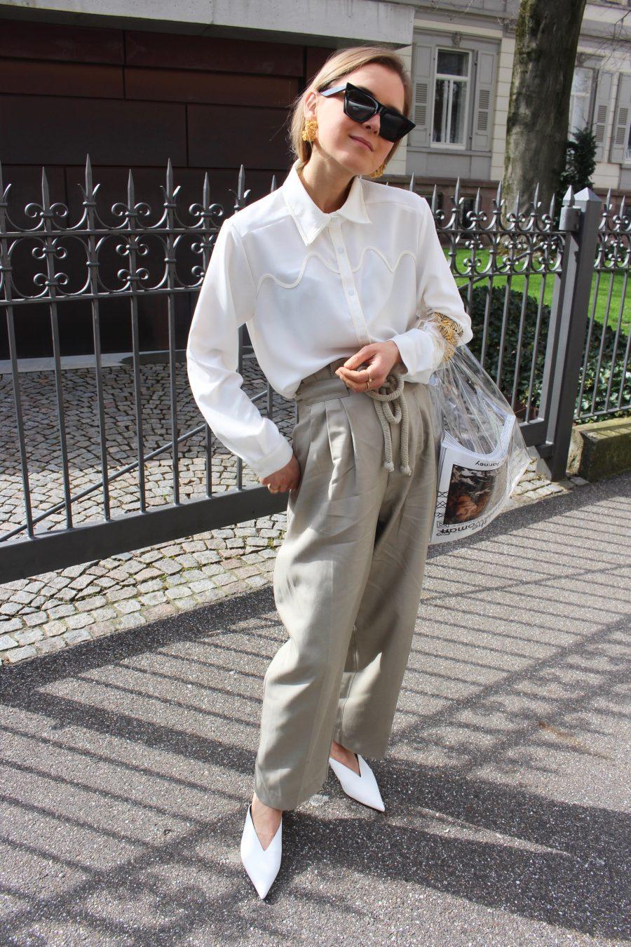 white bluse zara summer 2018