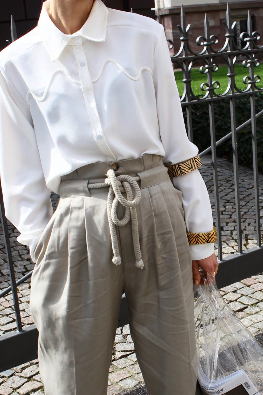 wide khaki pants H&M Trend sumer 2018