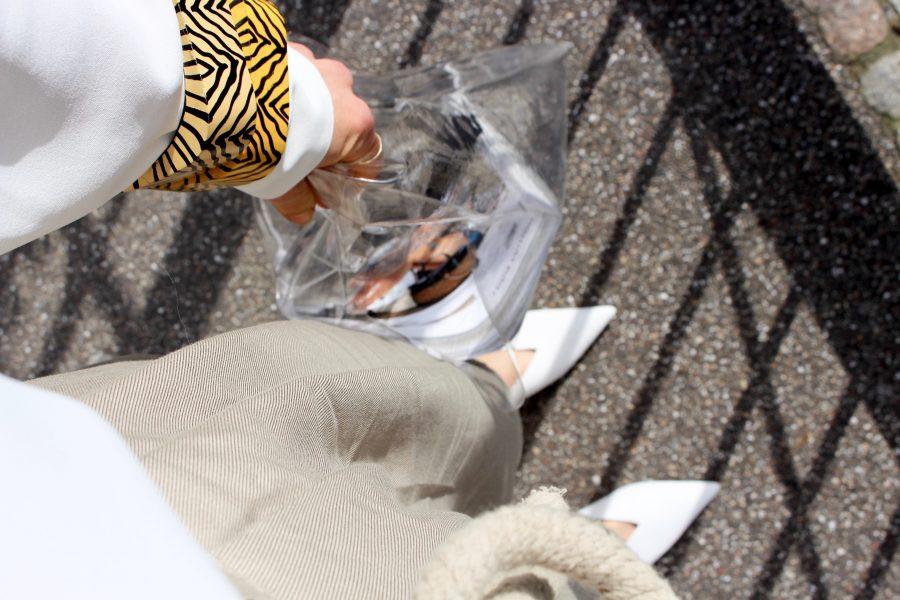 Zara women shoes white