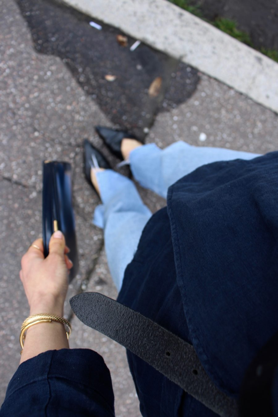 zara shoes black