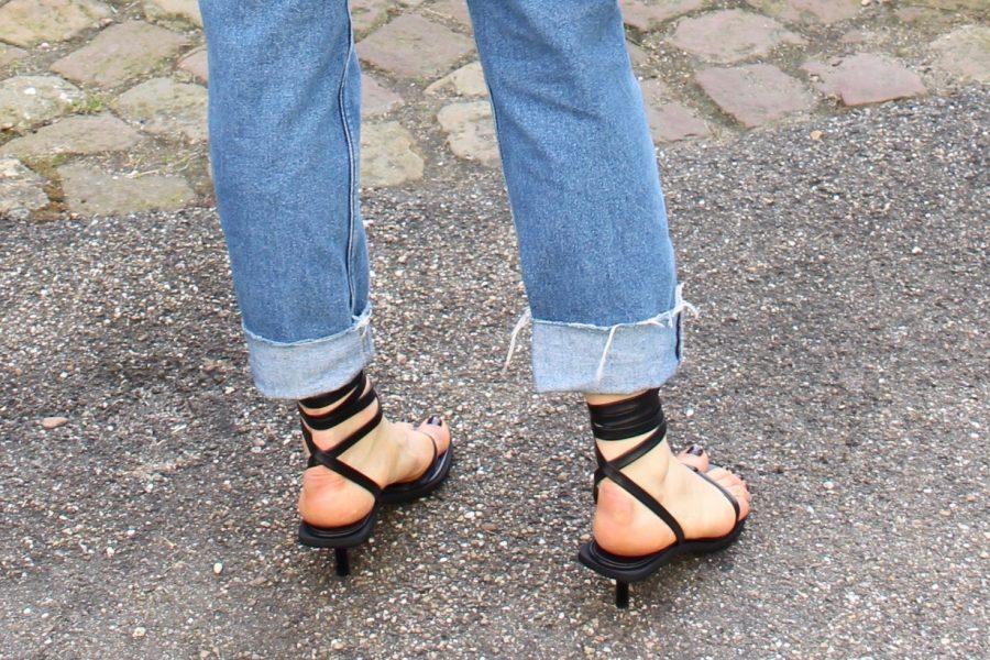 céline shoes black